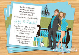 couples baby shower modern ba shower invitation baby shower invitations