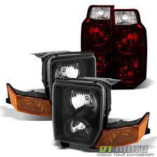 jeep commander black headlights jeep commander headlights ebay