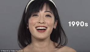 hong kong stars with bob haircuts time lapse video shows how china s changes shaped beauty trends in