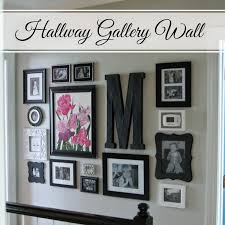 Interior Design Of Homes Little Bits Of Home Hallway Gallery Wall Diy Projects