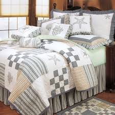 Beachy Comforters Sets Coastal Style Bedding Sets Interior Design Ideas
