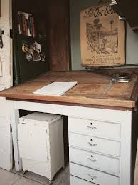 Wood Drafting Table Plans Old Drafting Table Homesfeed