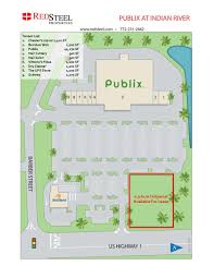 publix at indian river red steel
