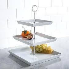 3 tier serving stand ksp plateau 3 tier serving platter white kitchen stuff plus