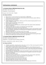 Facility Executive Resume Resume Eliza Sanyal