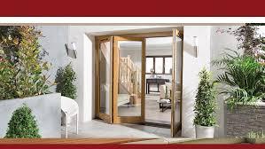 Wooden Bifold Patio Doors Jeld Wen Patio Door Roselawnlutheran