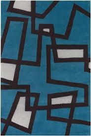 Blue And Black Rug Rugs My Site