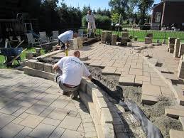 Paver Patio Installation Brick Pavers Canton Plymouth Northville Arbor Patio Patios