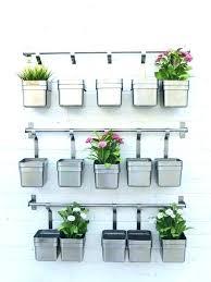 plant wall hangers indoor wall planter indoor hanging planter with grey thread plant hanger
