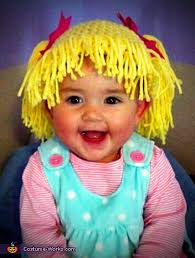 Cabbage Patch Halloween Costume Baby Adorable Cabbage Patch Doll Baby Costume Photo 2 2