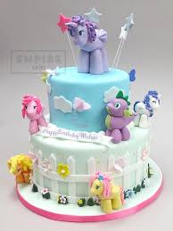 my little pony two tier empire cake