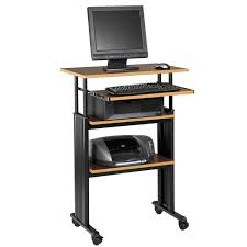 small stand up desk safco products muv stand up height adjustable desk 1929 stand up