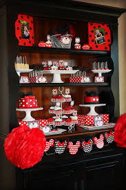 minnie mouse card table mickey minnie mouse party ideas design dazzle
