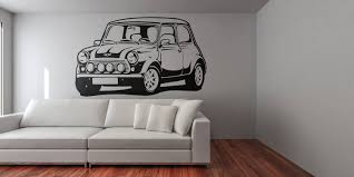 mini classic car silhouette old vintage and iconic cars wall mini classic car silhouette old vintage and iconic cars wall decal sticker for home decor and improvement retro decals for car fans