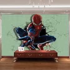 Spiderman Wallpaper For Bedroom Marvel Kids Bedroom Descargas Mundiales Com
