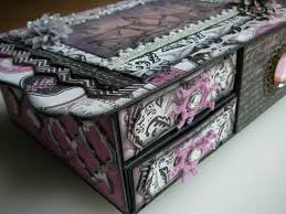 Paris Themed Jewelry Box Ooak Handmade Vintage Paris Travel Wedding Gift Memory Jewellery Box