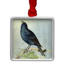 vintage bird paintings ornaments keepsake ornaments zazzle