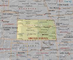 usa map kansas state map of kansas state usa
