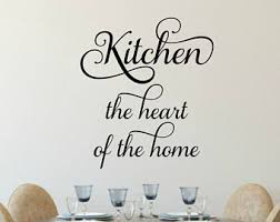 kitchen wall decals etsy
