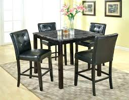 pub style table sets small pub table and chairs black wood pub table set cbat info