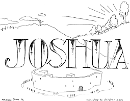 8 images of joshua coloring pages books of bible joshua coloring