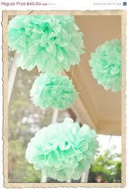 mint green tissue paper 44 best oh so pretty pom poms images on pom poms