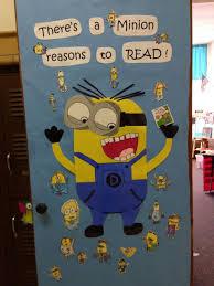 minions classroom doors reading corner classroom ideas reading