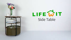how to set up the lifewit side table youtube