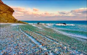 glass beach glass beach where nature has turned pollution into beauty