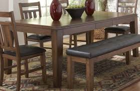 Dining Room Table Set With Bench Awesome Dining Room Table With A Bench Images Rugoingmyway Us