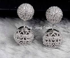 diamond back earrings best 25 sided earrings ideas on earrings