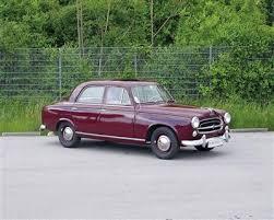 peugeot classic cars classic cars 1958 peugeot 403 dorotheum