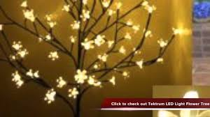 tektrum 6 5inch 108 warm white led lighted cherry blossom