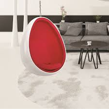 Metal Egg Chair by Furniture Entrancing Home Furniture Ideas Using White Metal Clear