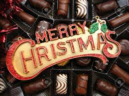 christmas chocolates merry christmas chocolates stock photo picture and royalty free