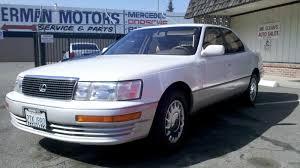 lexus ls400 for sale mr cleans auto sales 1990 lexus ls400 sold