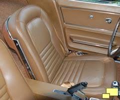 Saddle Interior 1967 Corvette Stingray C2 Big Block Stinger Hood Interior Upgrades