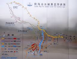 Map Of The Great Wall Of China by Great Wall Emchina2010