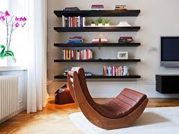 great home designs decor floating bookshelves ikea with unique wooden chair and