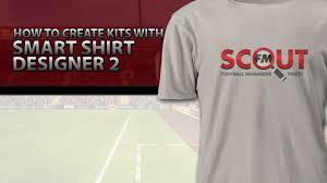football manager 2016 tutorial how to create kits with smart shirt - T Shirt Design Erstellen
