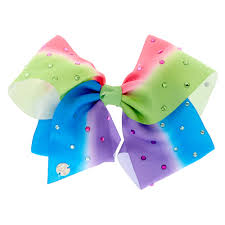 cheap hair bows jojo siwa rainbow signature hair bow s us