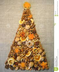 dried fruits christmas tree royalty free stock image image 35815166