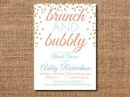 bridal shower invitations brunch brunch and bubbly invitation bridal shower brunch and bubbly