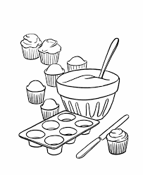 cupcake coloring pages to print bluebonkers kids birthday cake coloring page sheets free
