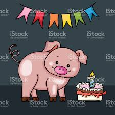 graphics for happy birthday pig graphics www graphicsbuzz com
