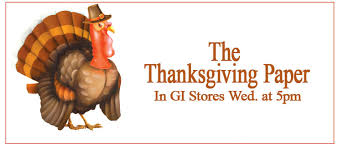 black friday deals in the thanksgiving day newspaper local news