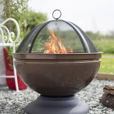 Fire Pit Globe by La Hacienda Globe Firepit With Grill 60cm Height On Sale Fast