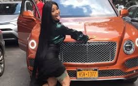 orange bentley cardi b drops 240 stacks for bodega orange bentley celebnreality