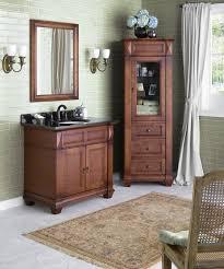 Cherry Bathroom Vanity Cabinets Ronbow Torino 36