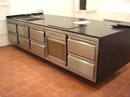 meuble inox cuisine pro plan de travail cuisine inox matériau plan de travail inox quel